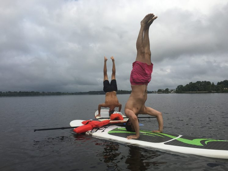 How to Balance on Your Paddleboard