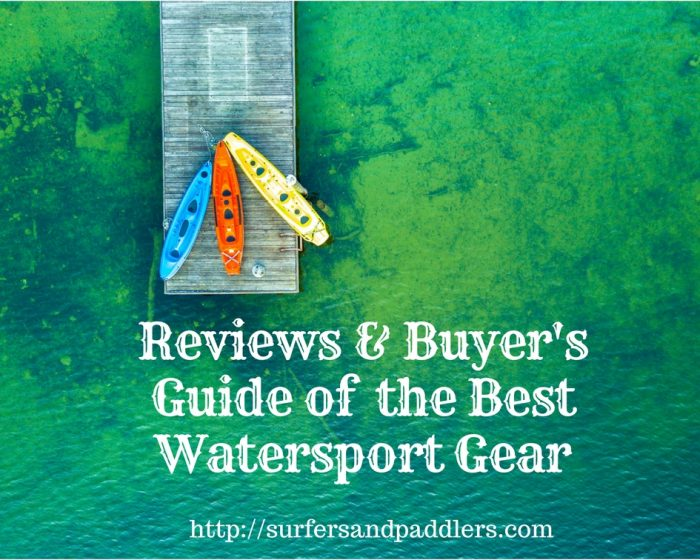 guide to best watersports gear