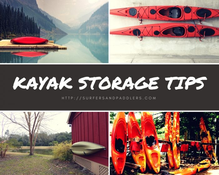 store and protect your kayak